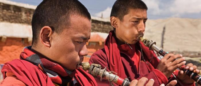 Musicians - Buddhist sacred music