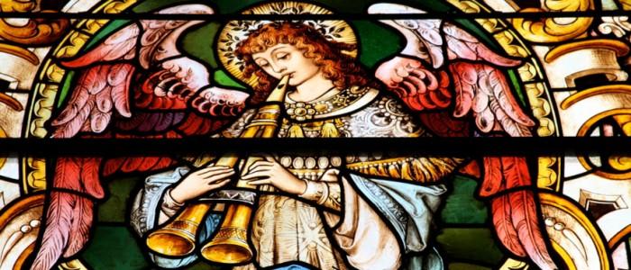 Church window - Christian sacred music
